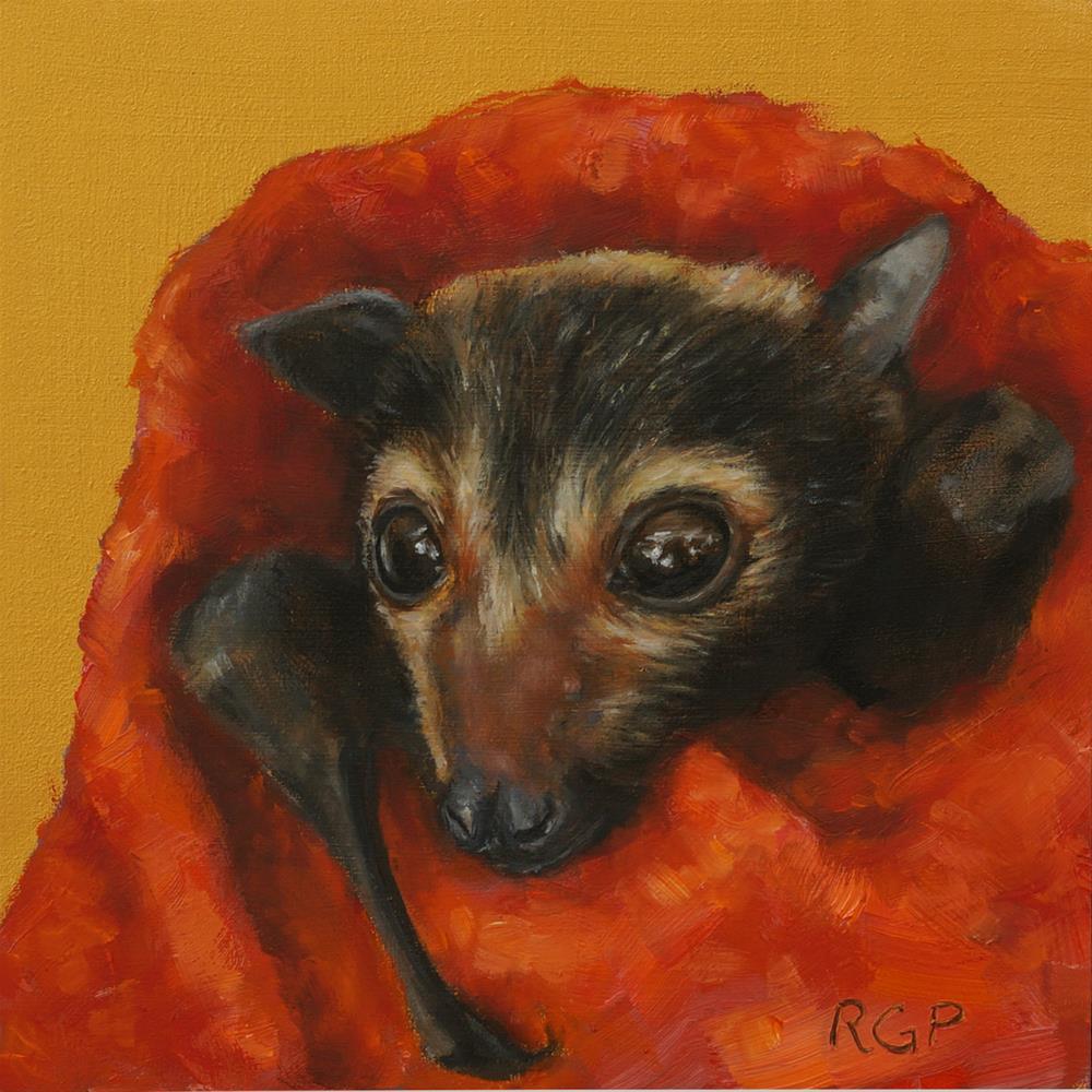 """Ziggy"" original fine art by Rhea  Groepper Pettit"