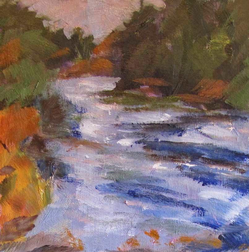 """Path Challenge"" original fine art by Helen Moreda"
