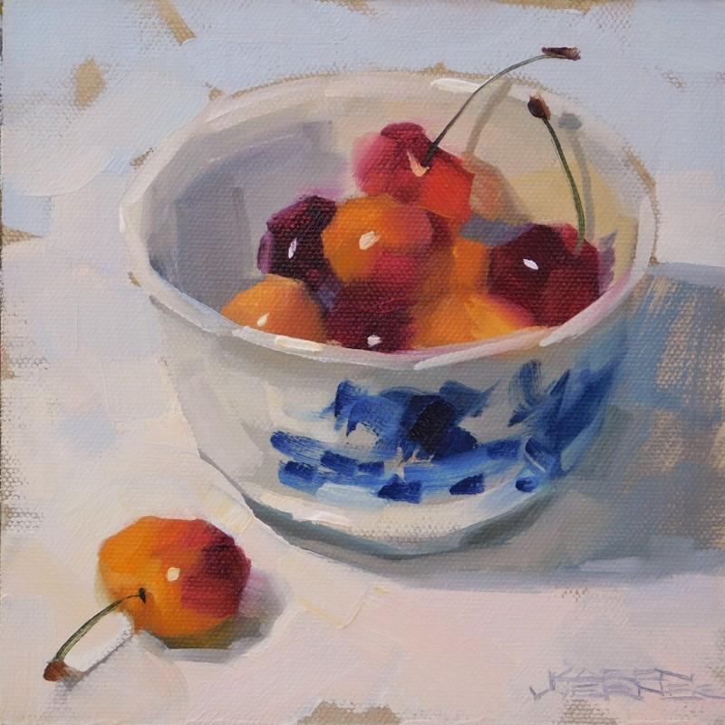 """Sweet Bowl"" original fine art by Karen Werner"