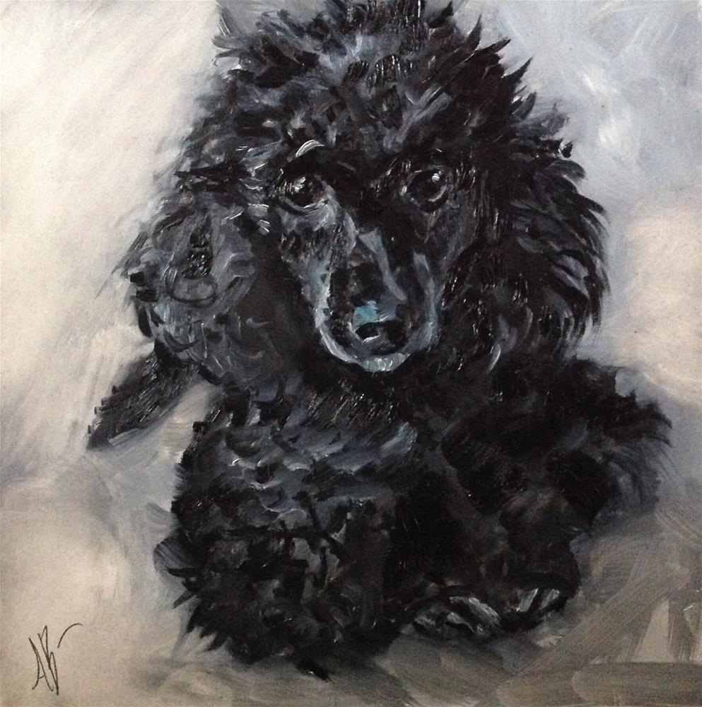 """""""Portrait of Gypsy"""" original fine art by Annette Balesteri"""