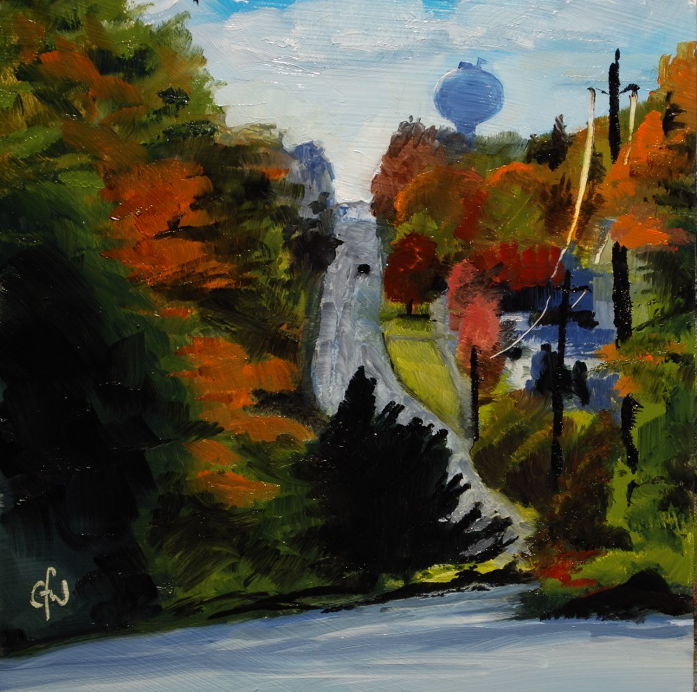"""Down to Sherbrooke"" original fine art by Gary Westlake"