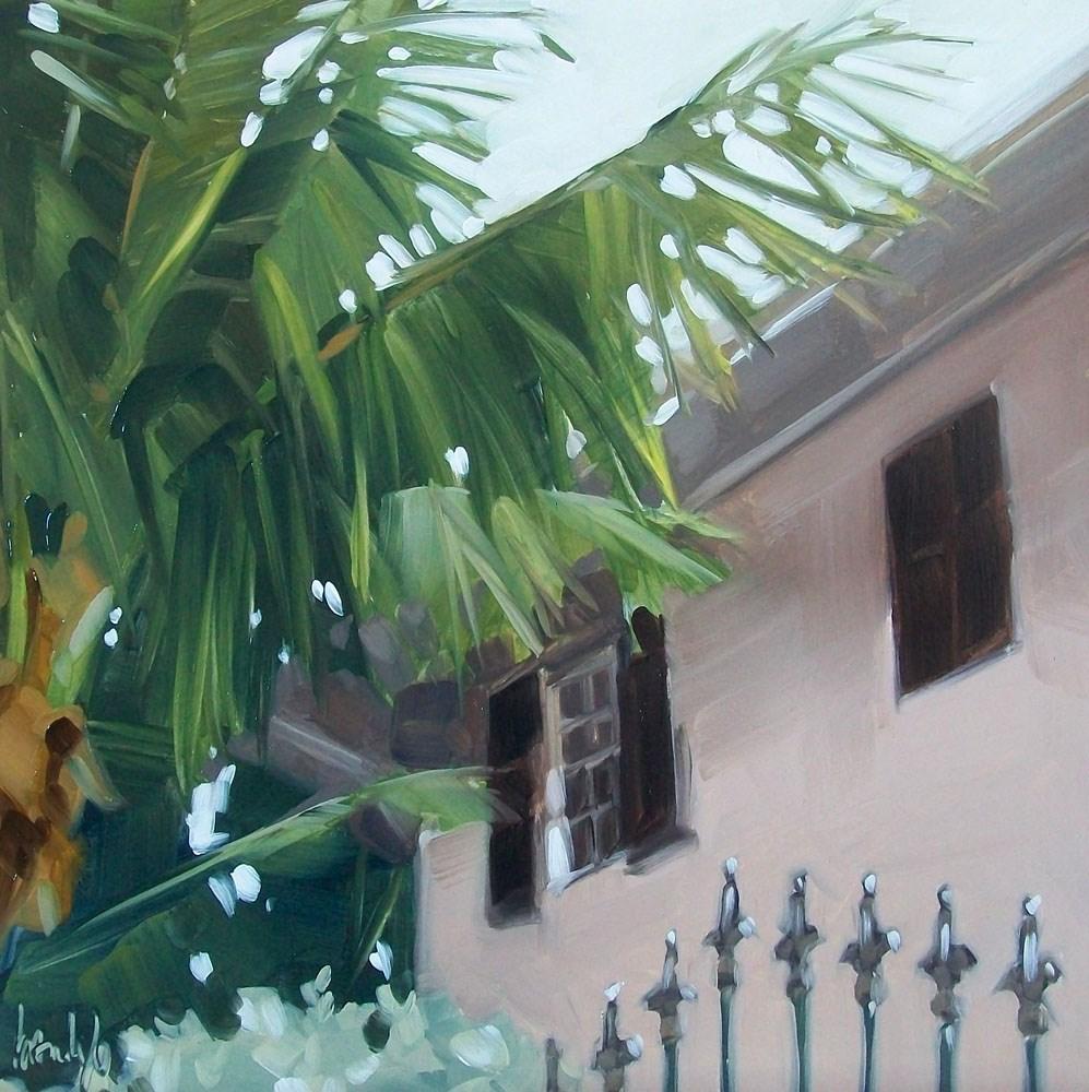 """Pink house"" original fine art by Brandi Bowman"
