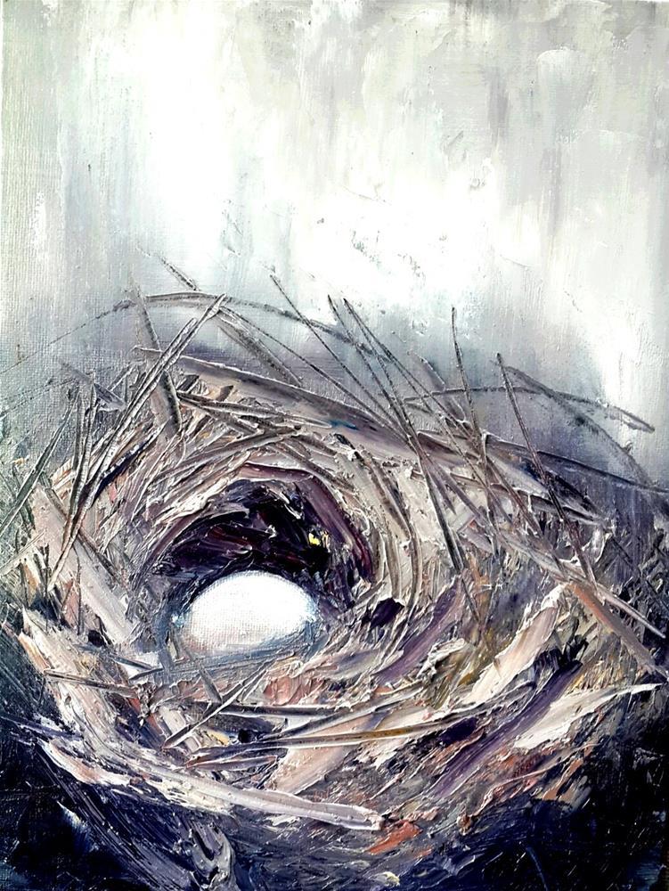 """""""Safe haven 3"""" original fine art by Rentia Coetzee"""