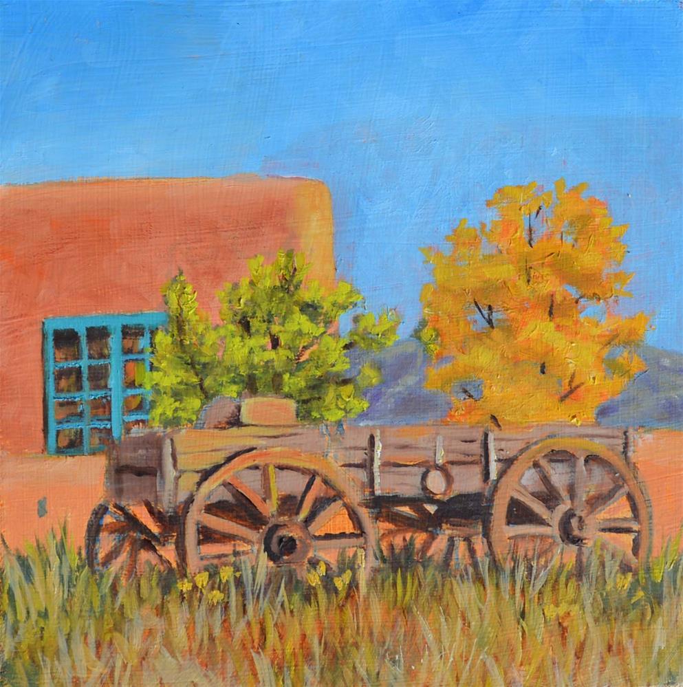 """Buckboard"" original fine art by Robert Frankis"