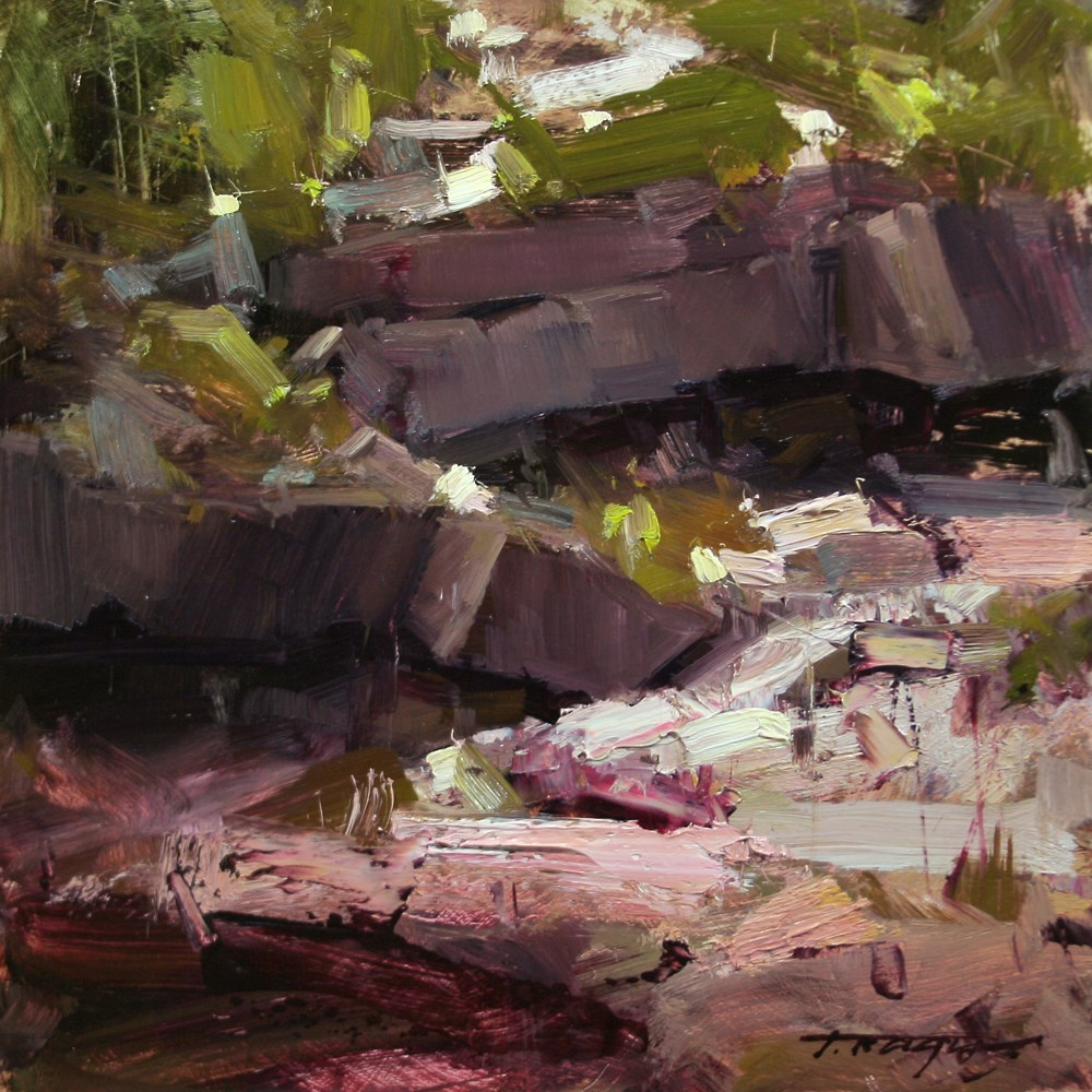 """The Symbiosis"" original fine art by Tibor Nagy"
