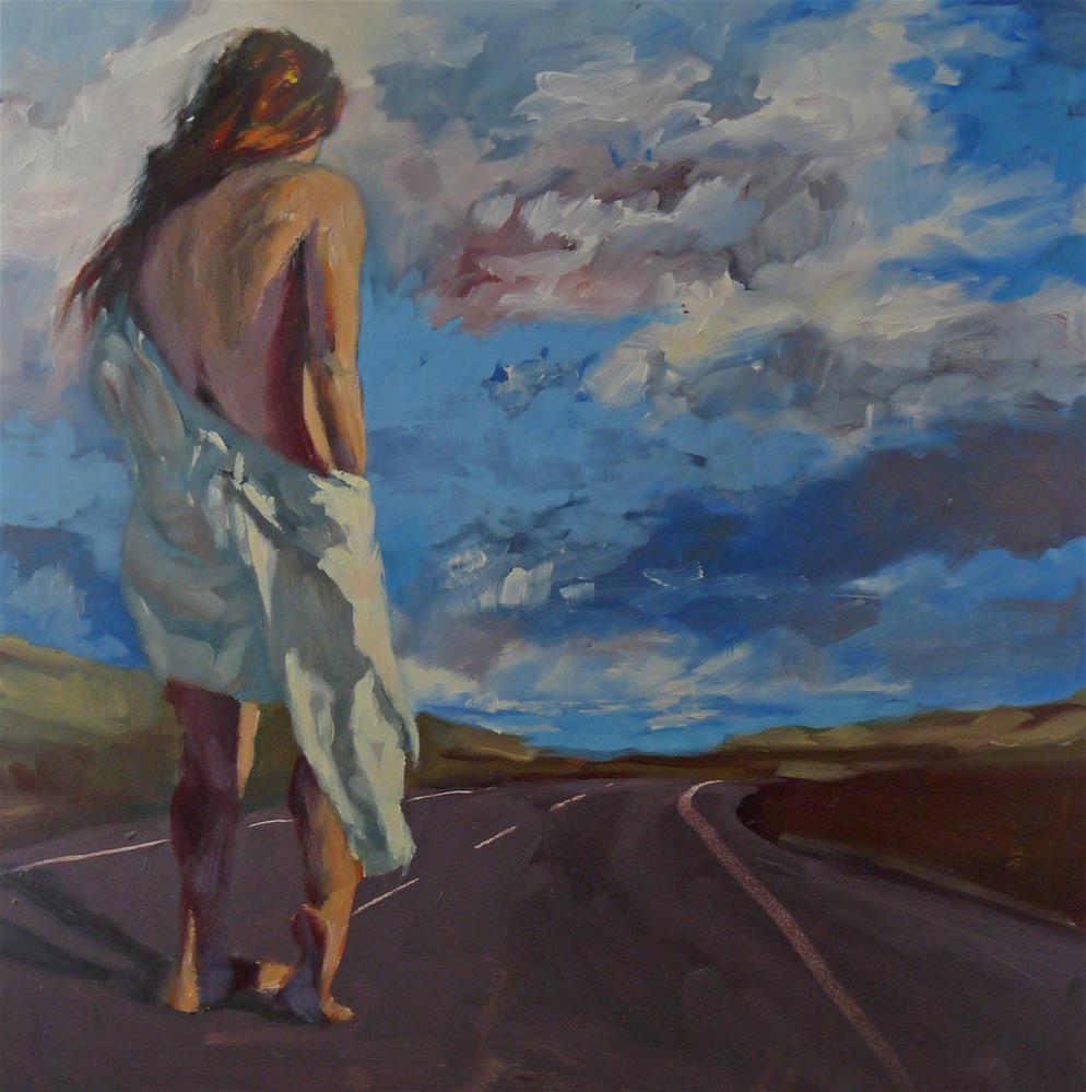 """""""Know Your Path"""" original fine art by Sharman Owings"""