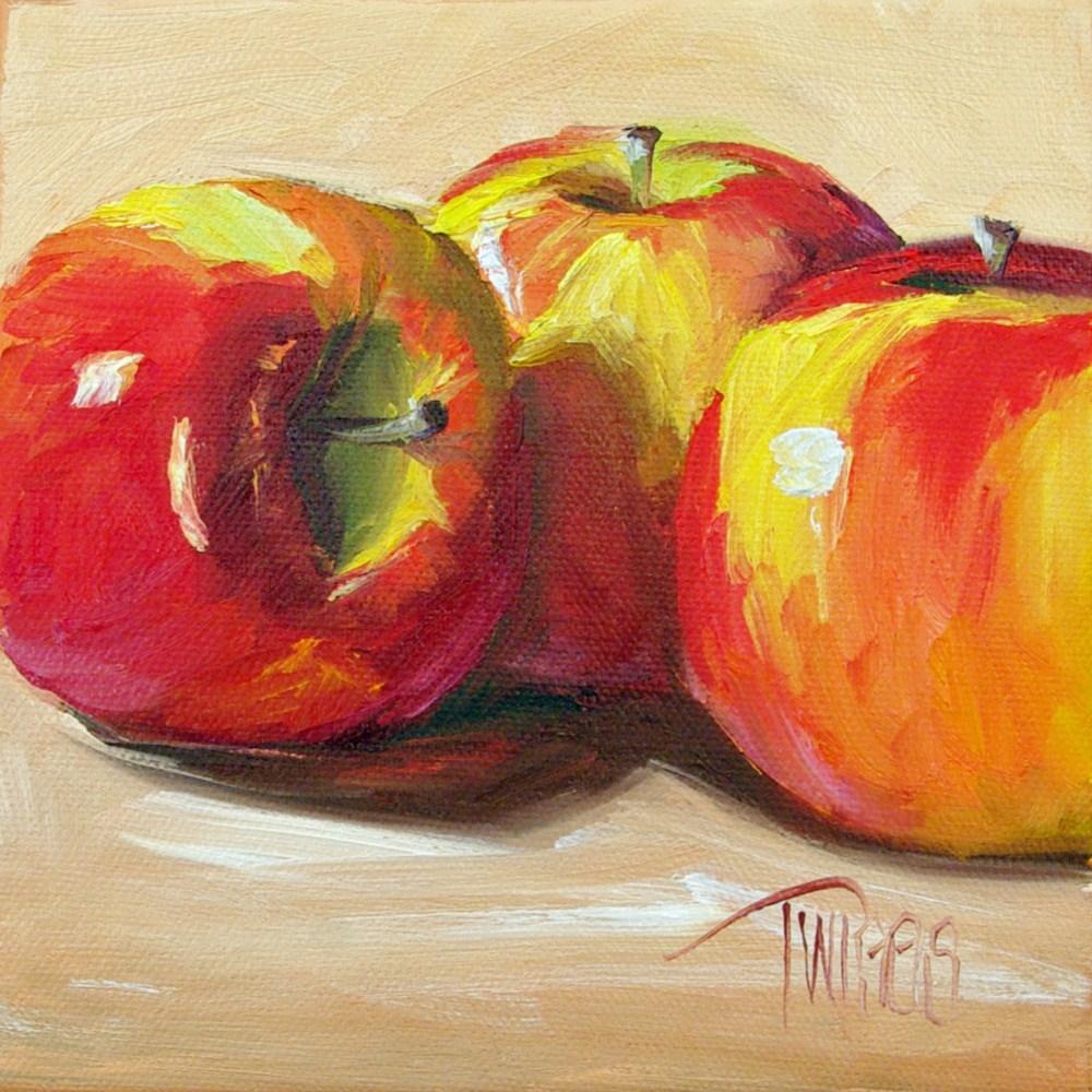 """Crisp Trio"" original fine art by Lori Twiggs"
