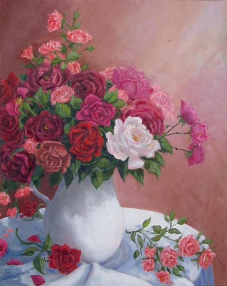 """Rose Parade"" original fine art by Patricia Musgrave"