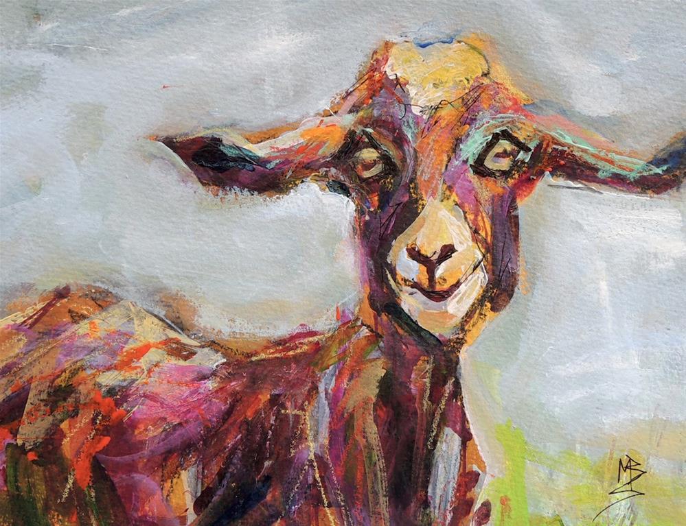 """""""Billie"""" original fine art by Mary Schiros"""