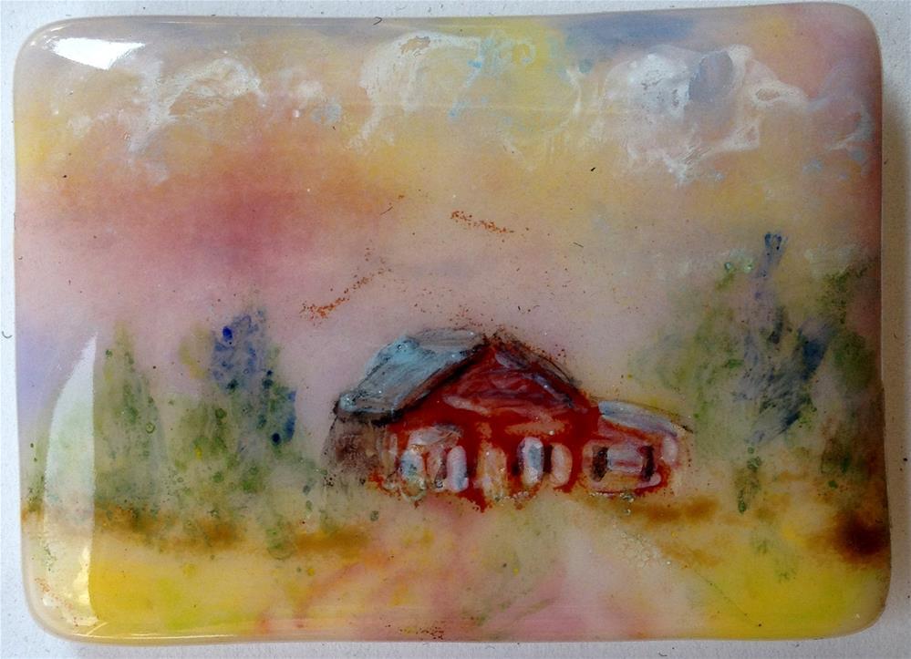 """""""Sanctuary"""" original fine art by Kristen Dukat"""