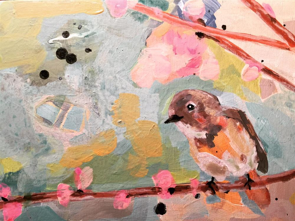 """420 Easy Bird"" original fine art by Jenny Doh"