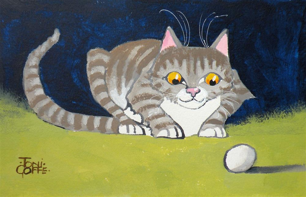 """""""The Egg and I"""" original fine art by Toni Goffe"""