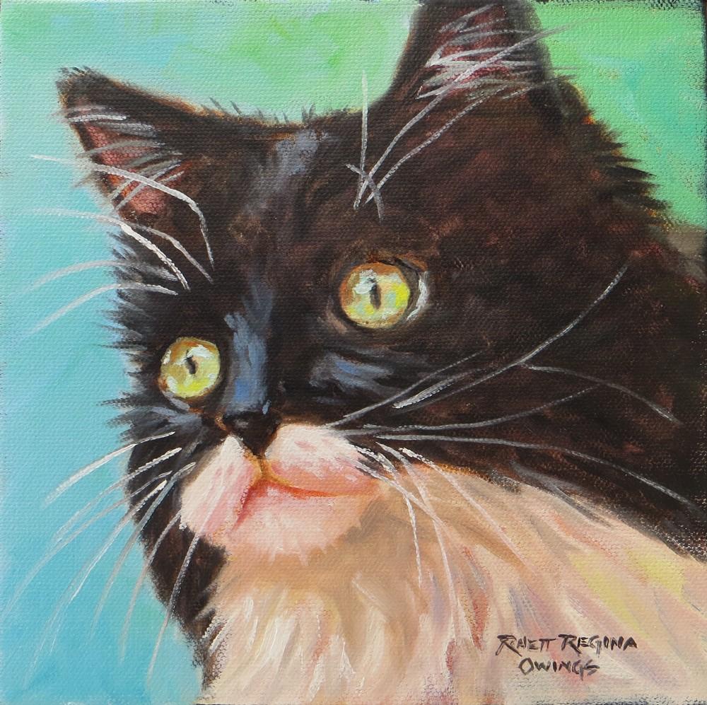 """Black and White Beauty"" original fine art by Rhett Regina Owings"