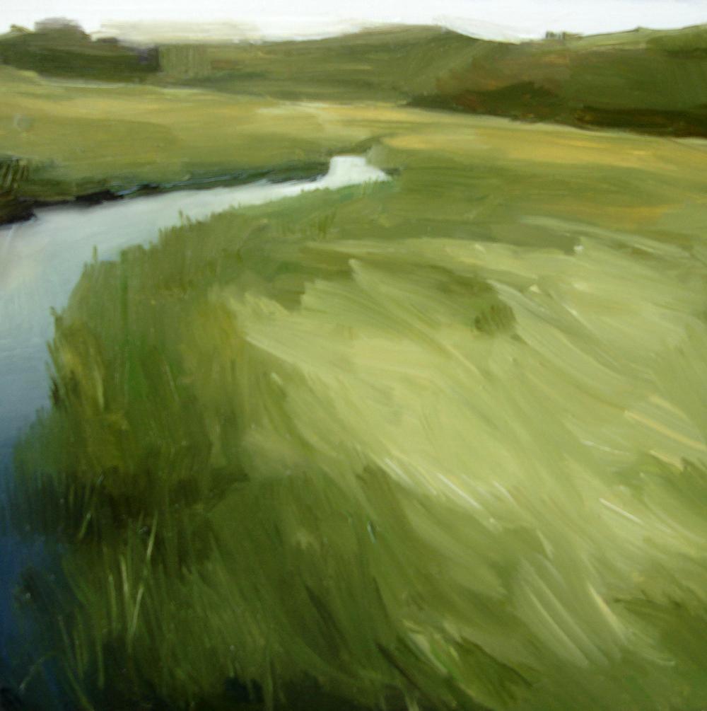 """Menemsha Pond, Martha's Vineyard"" original fine art by Michael William"