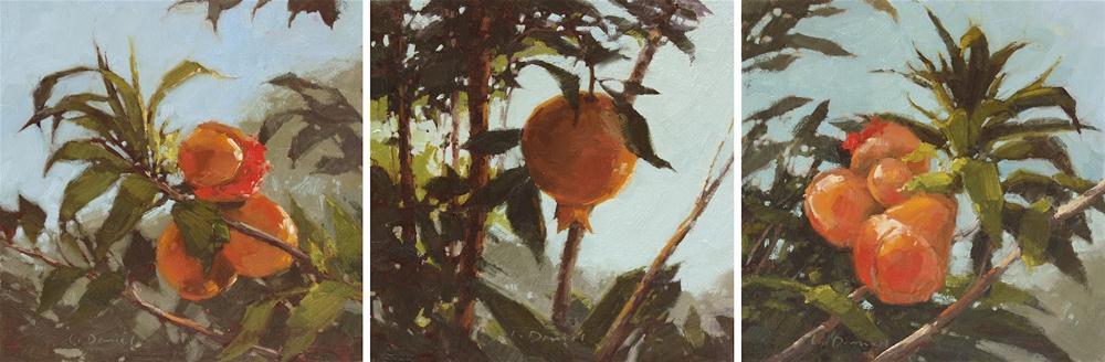 """""""Fruits of the Garden & Upcoming Exhibit!"""" original fine art by Laurel Daniel"""