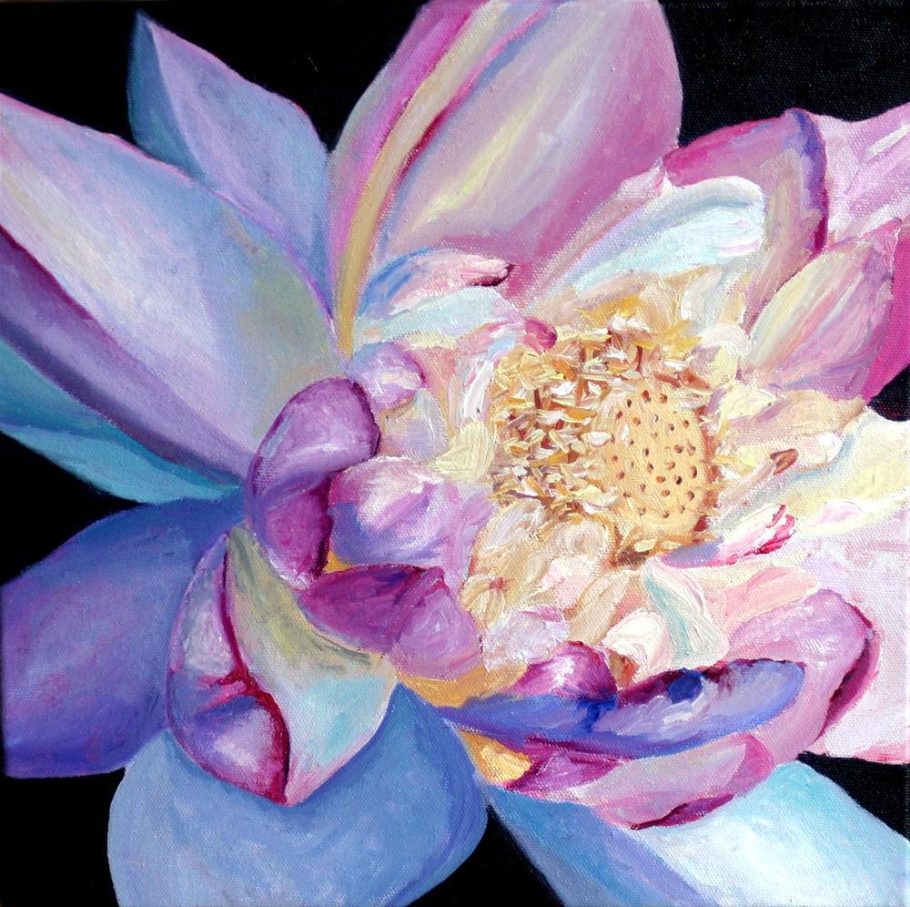 """""""Flower for Japan"""" original fine art by Kristen Dukat"""