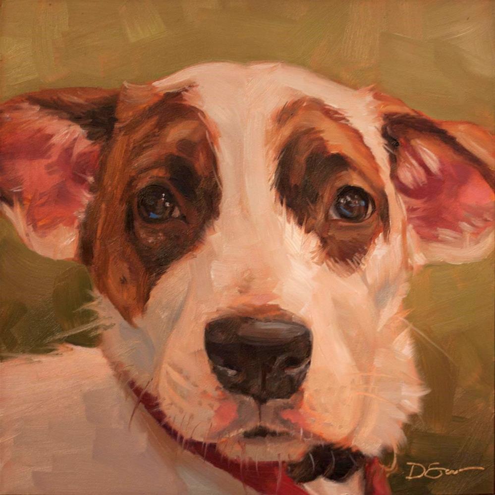 """Eyes of Love No.25 Bishop"" original fine art by Deborah Savo"