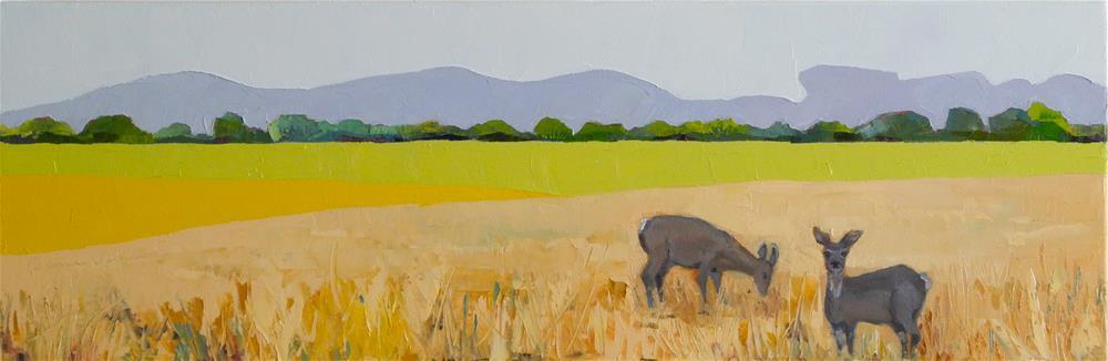 """Quiet Morning"" original fine art by Donna Walker"