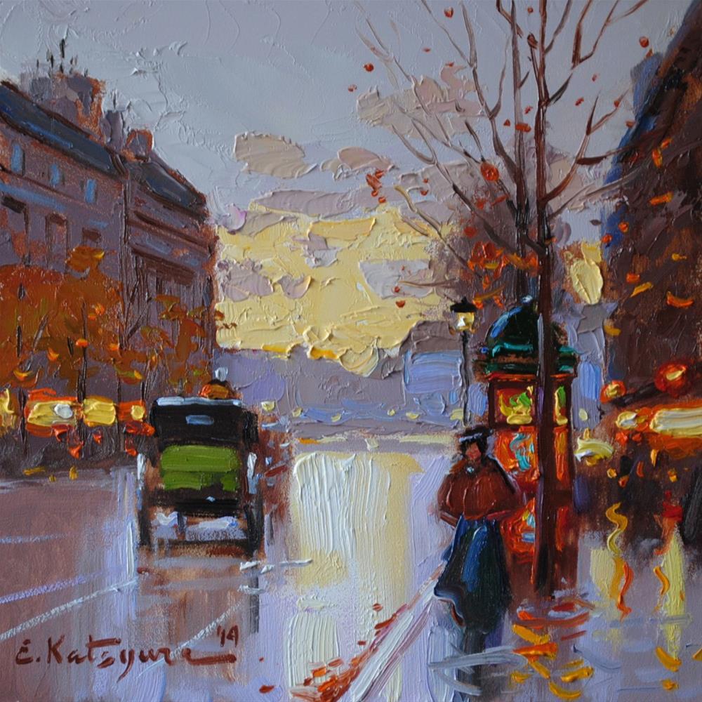 """""""Early Morning"""" original fine art by Elena Katsyura"""
