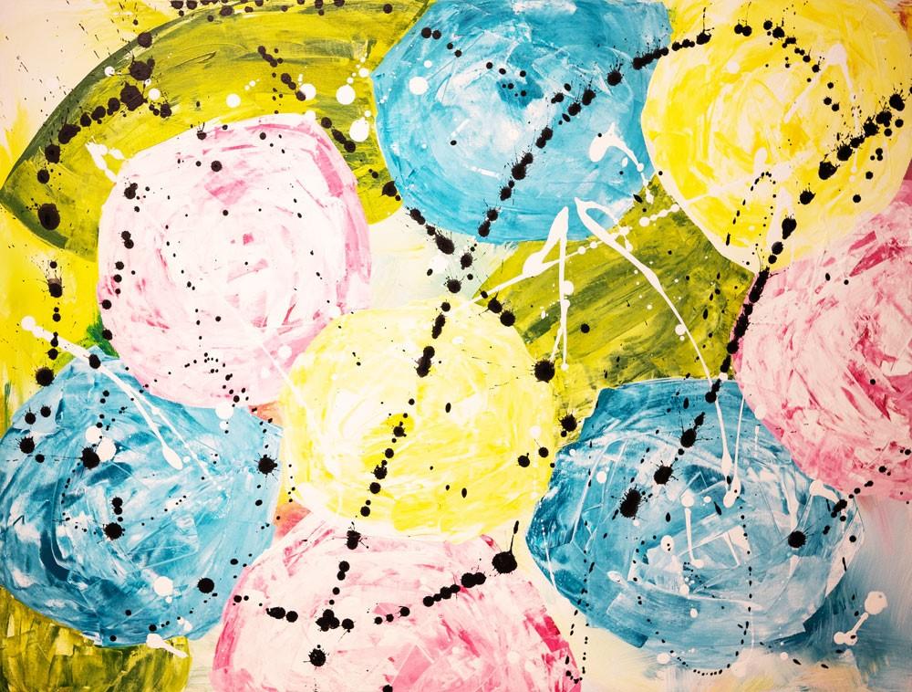 """Spring"" original fine art by Kali Parsons"