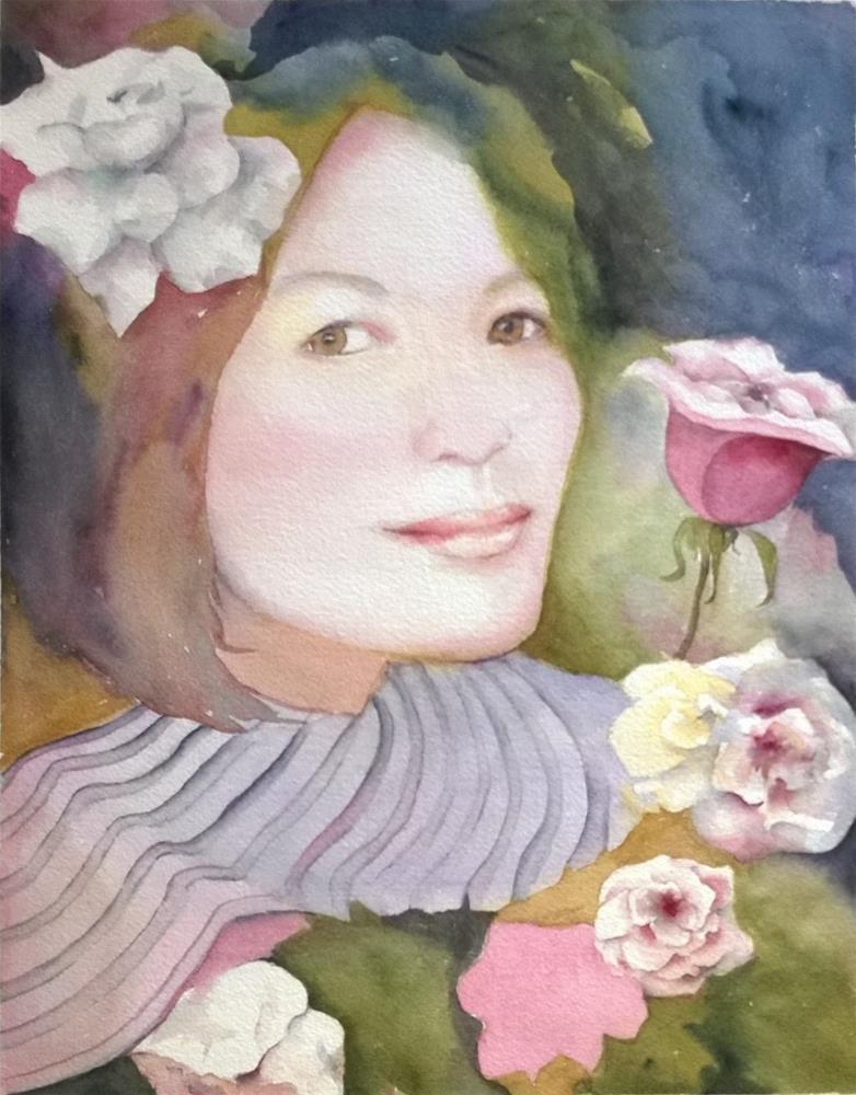 """Ilse's friend"" original fine art by Crisynda Buss"