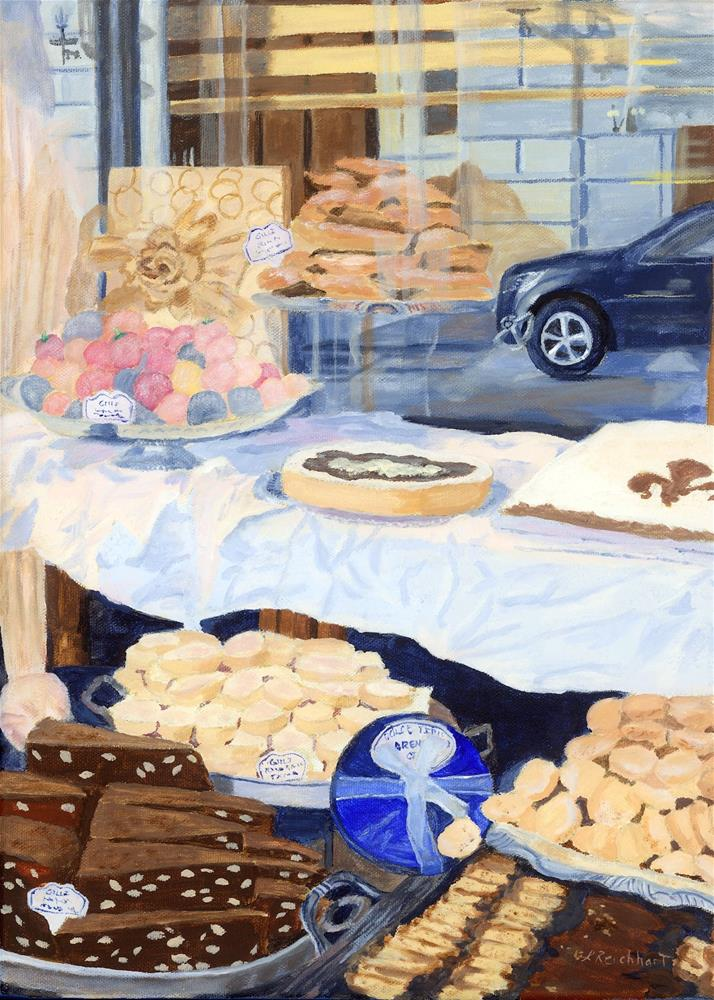 """Gillis"" original fine art by Lynne Reichhart"
