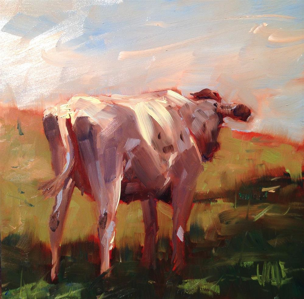 """#230 Cold Shoulder"" original fine art by Patty Voje"