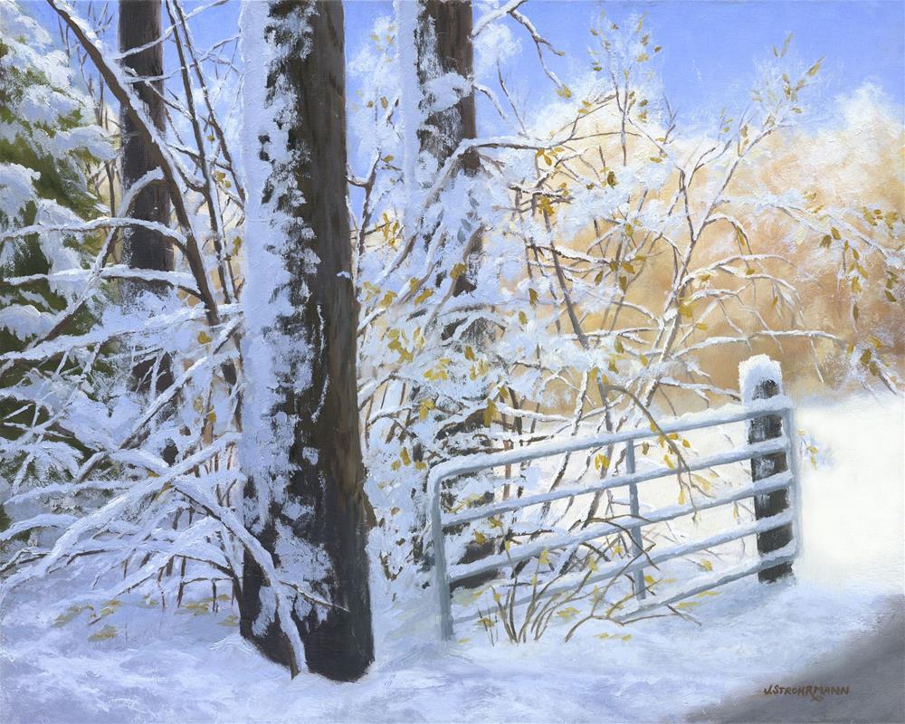 """""""Always Open"""" original fine art by Jeanne Strohrmann"""