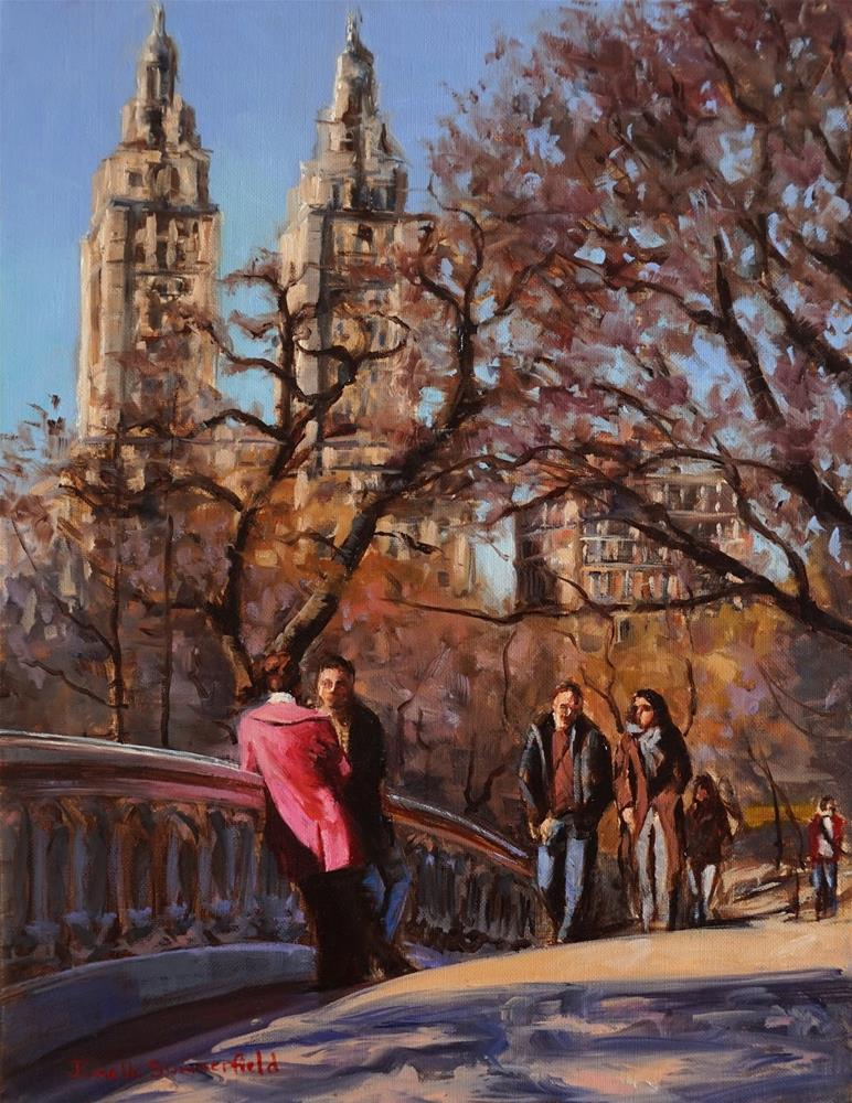 """""""Bow Bridge"""" original fine art by Jonelle Summerfield"""