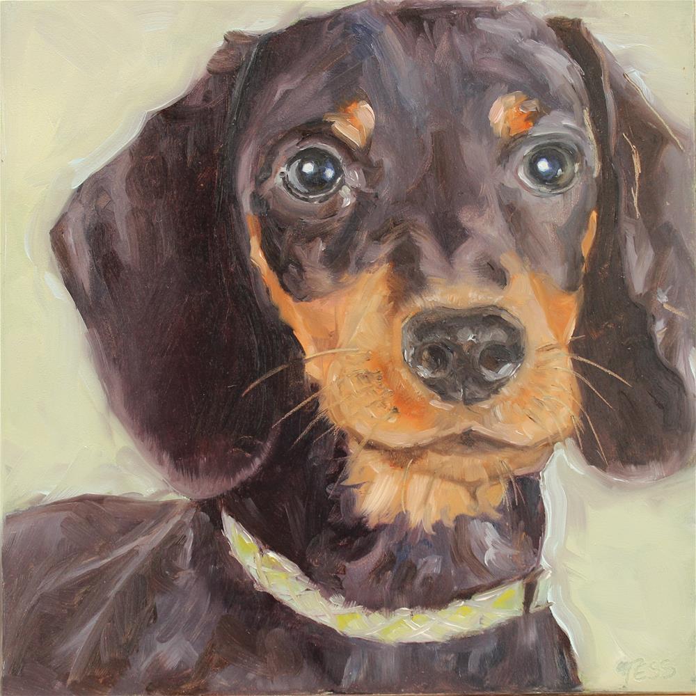 """Hot Dog- Led Zeppelin"" original fine art by Tess Lehman"