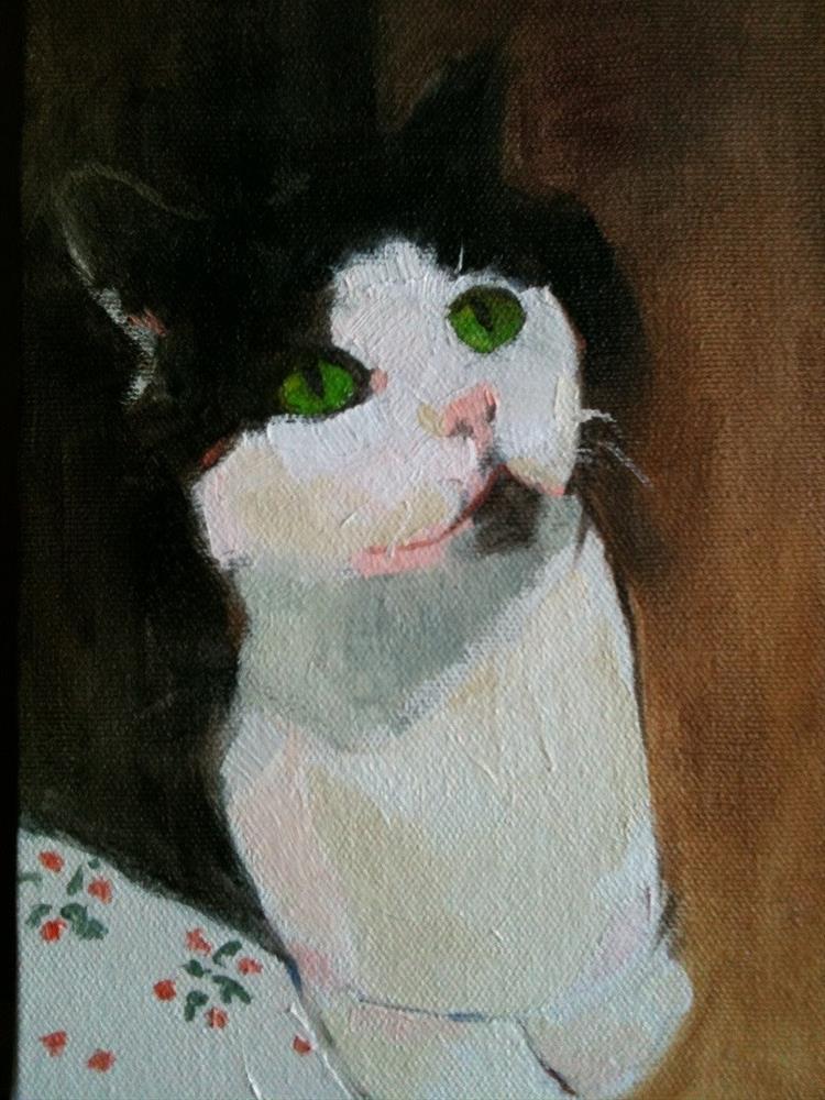 """Molly"" original fine art by Carole A. Ball"