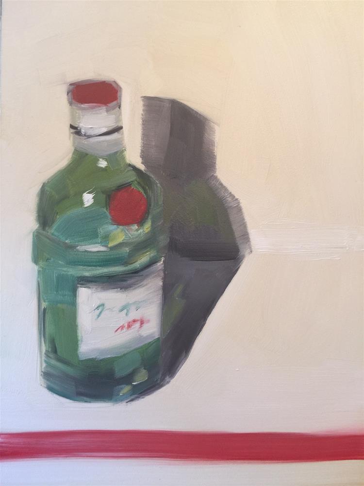 """344 Like I Was Tanqueray"" original fine art by Jenny Doh"