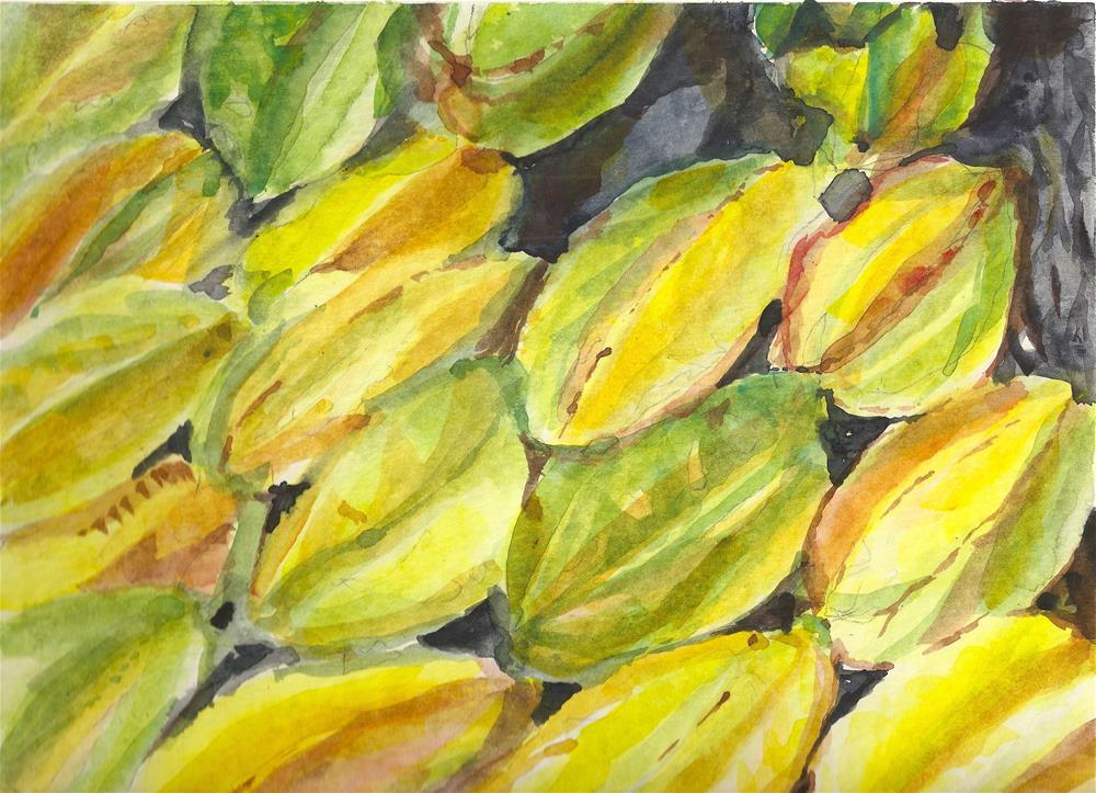"""Star Fruit"" original fine art by Jean Krueger"