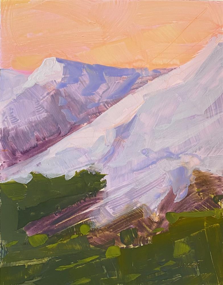 """Peak"" original fine art by Patti Vincent"