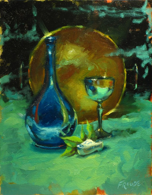 """Clog"" original fine art by Dave Froude"