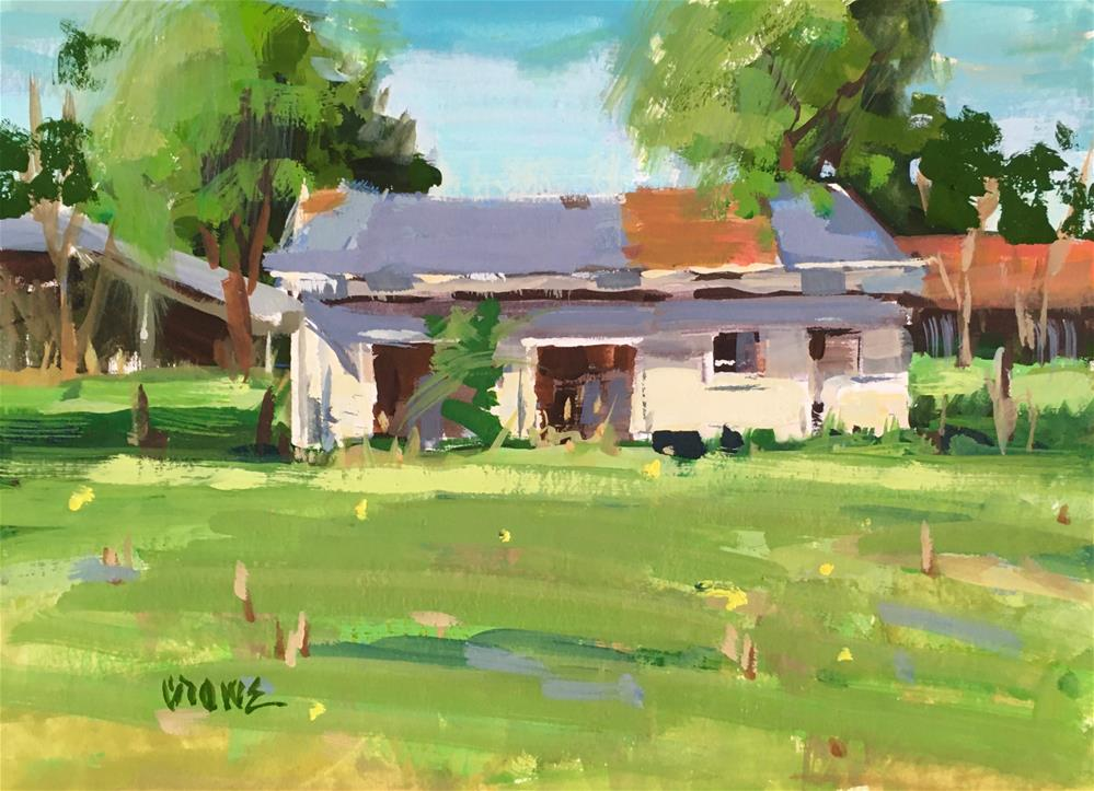 """Alice Doesn't Live Here Anymore"" original fine art by Judy Crowe"