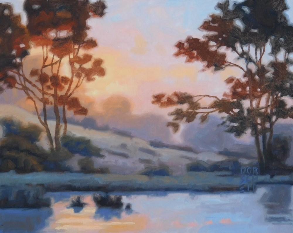"""""""Fading Light _2"""" original fine art by Les Dorscheid"""