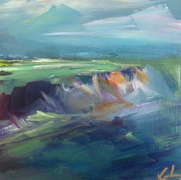 """Of Nature's Light"" original fine art by David Kuhn"