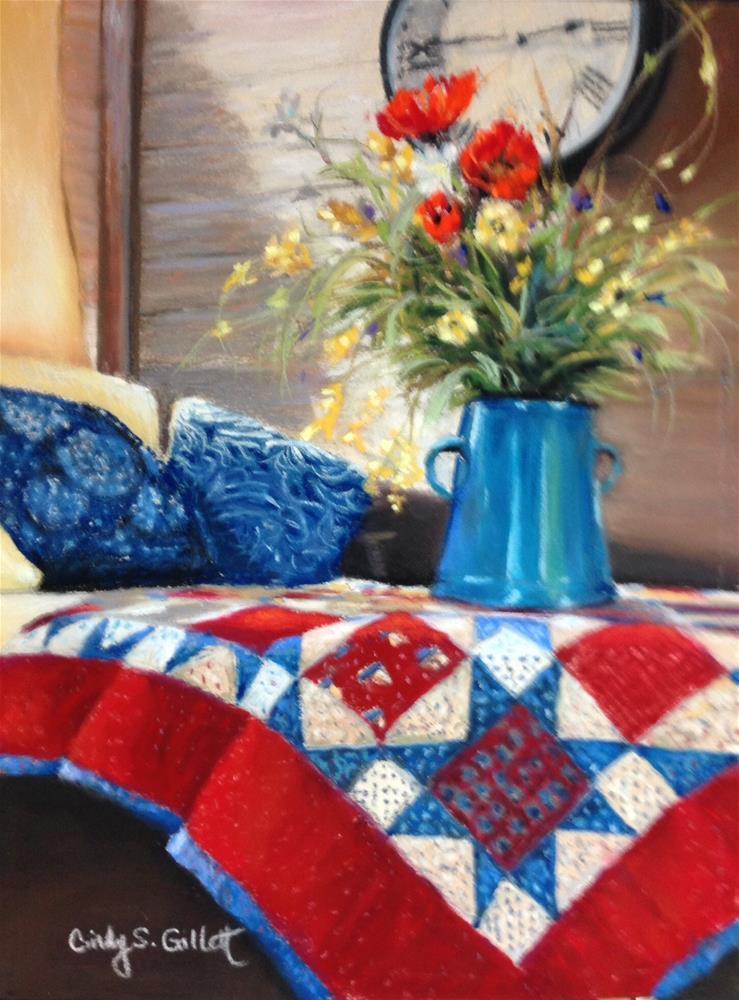 """Americana"" original fine art by Cindy Gillett"