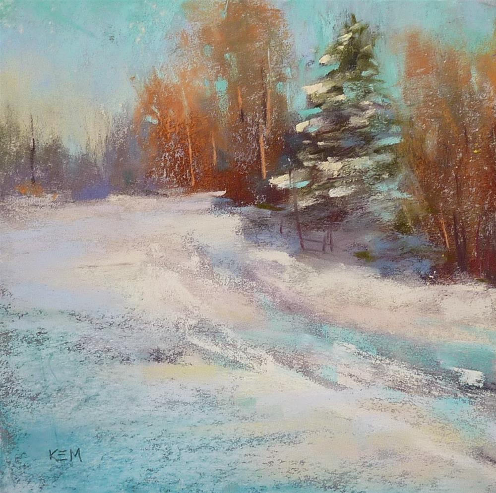 """The Road Less Traveled"" original fine art by Karen Margulis"