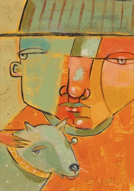"""Good Times Charlie"" original fine art by Brenda York"