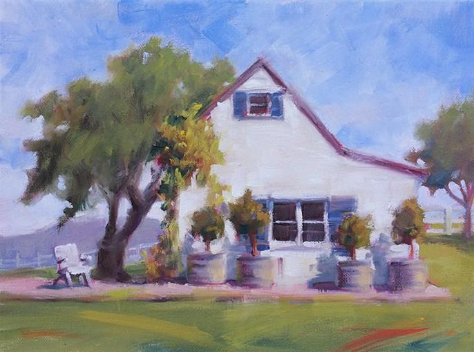 """Perfect Studio"" original fine art by Deborah Newman"