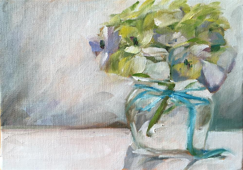 """Morning bloom"" original fine art by Renee Robison"