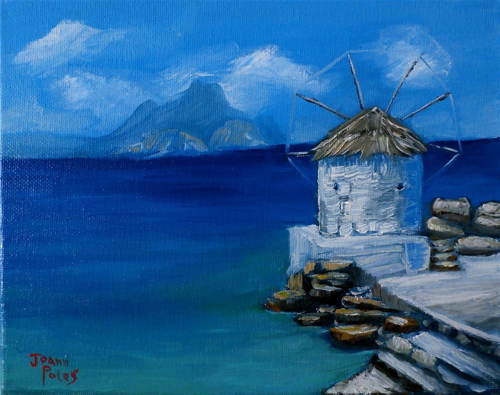 """Sunny day"" original fine art by Joann Polos"