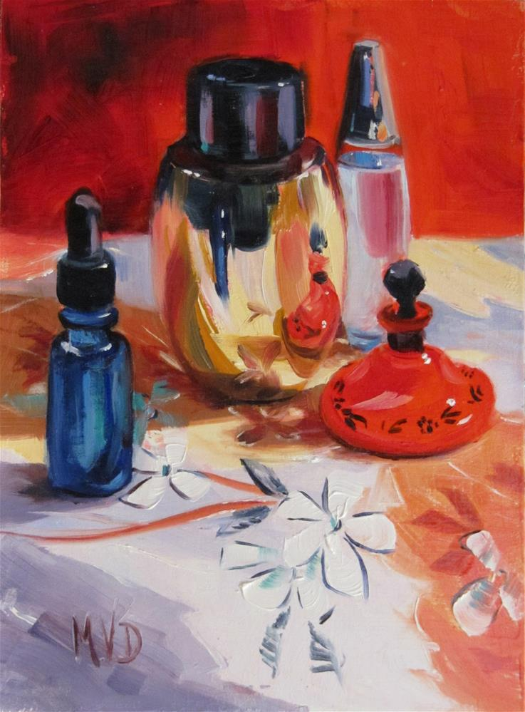 """Vanity"" original fine art by Mary Van Deman"