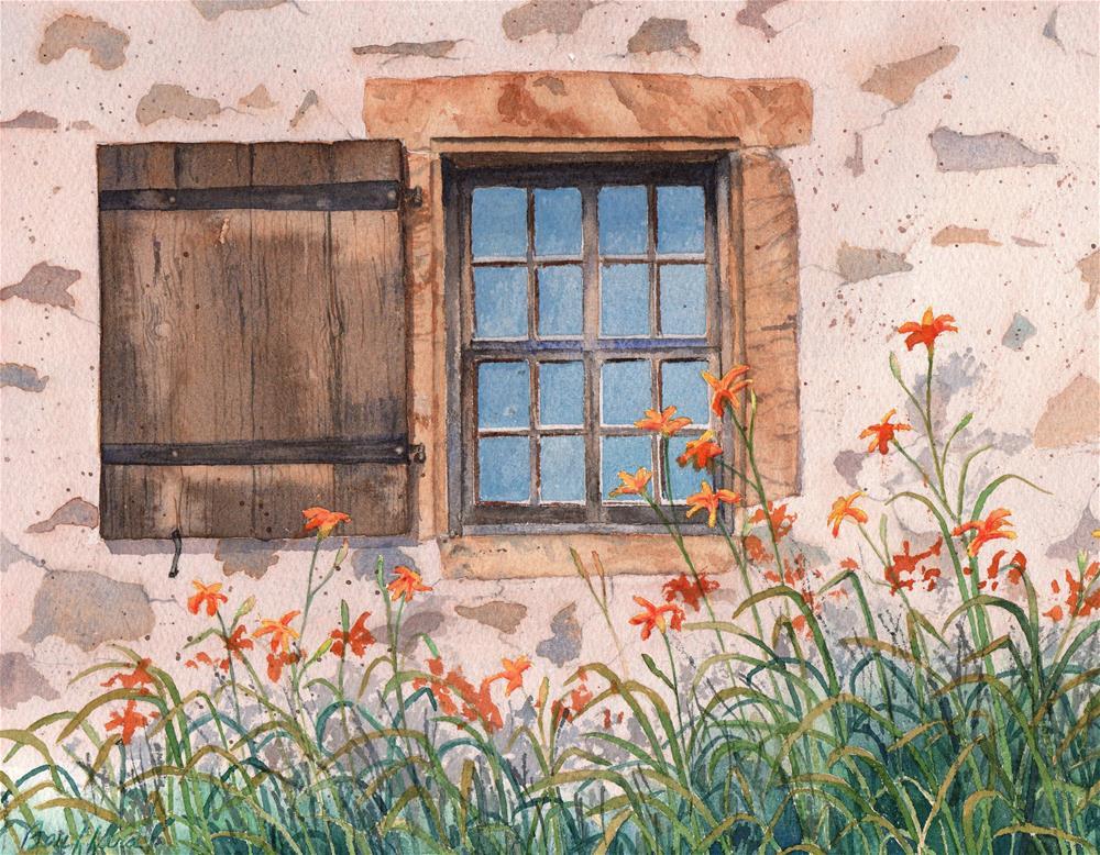 """Hurd House"" original fine art by Vikki Bouffard"