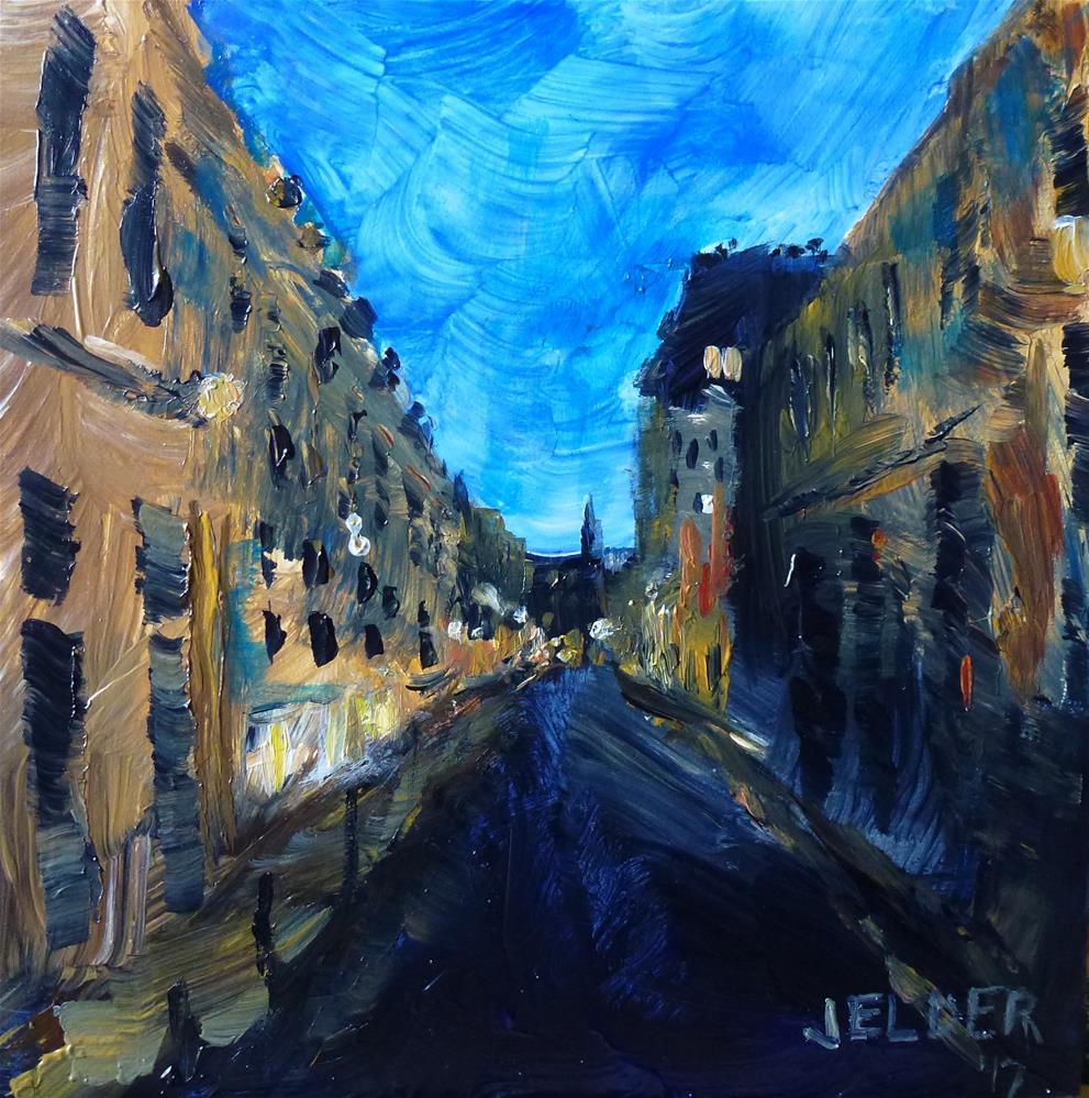 """Paris No. 106"" original fine art by Judith Elder"
