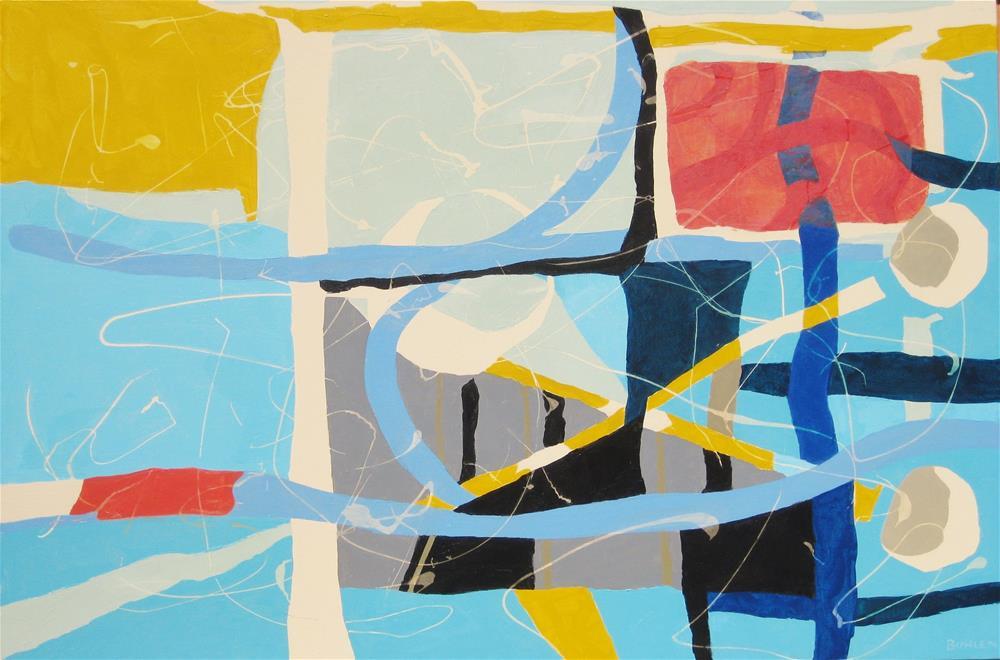 """""""Odelay"""" original fine art by Priscilla Bohlen"""