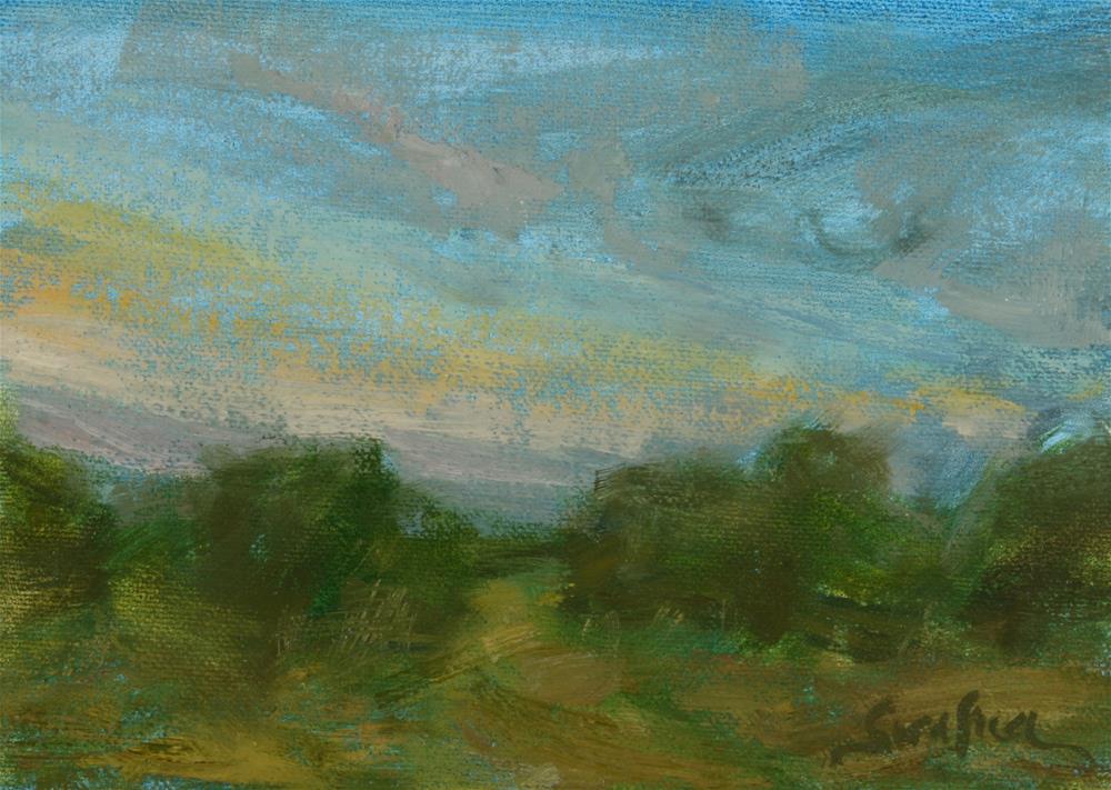 """Quiet Morning - Study"" original fine art by Scott Serafica"