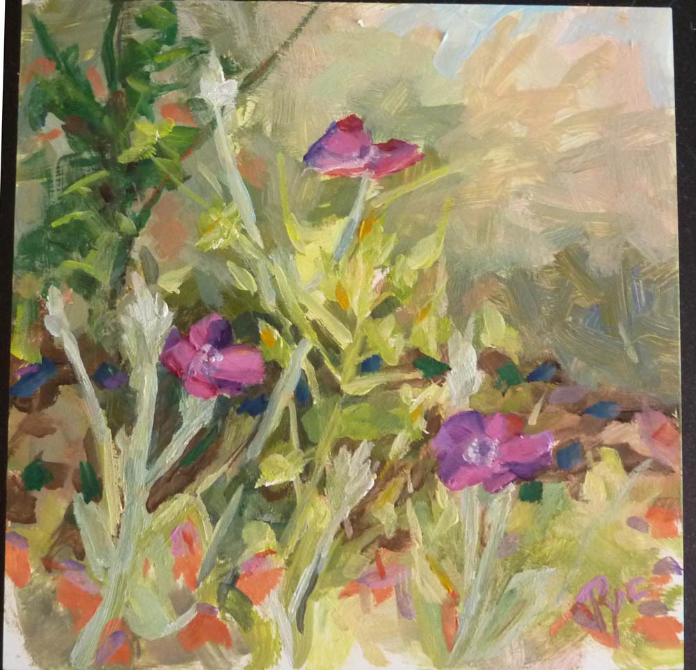 """Garden Patch for Cindi"" original fine art by Mary Pyche"